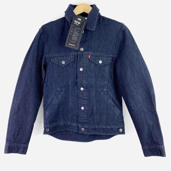 Levi's Other - Levi's Denim Jean Jacket Commuter Trucker Hood S